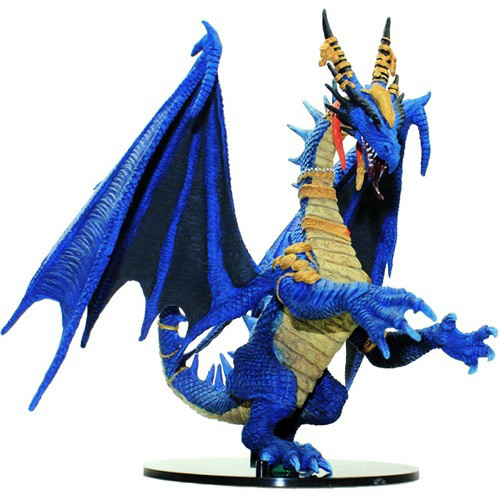 Shattered Star #55 Gargantuan Blue Dragon (Out of Box)