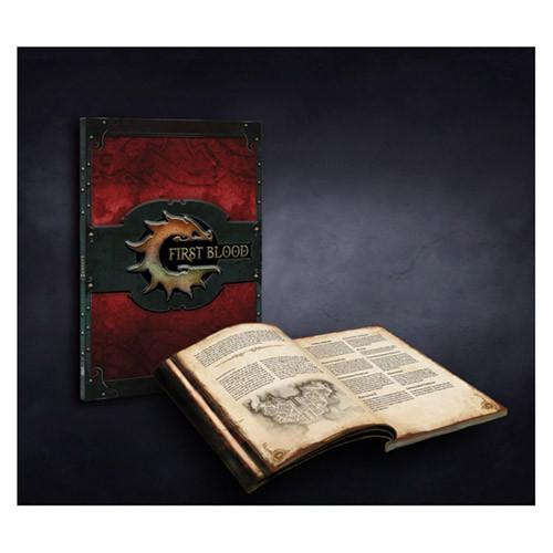 Conquest: First Blood - Rulebook V.1.5 (Softcover)
