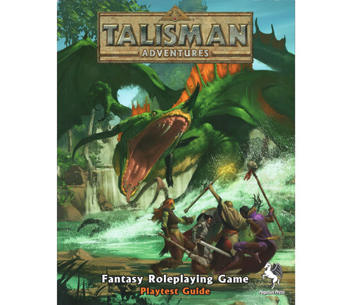Talisman Adventures RPG: Playtest Guide (Softcover)
