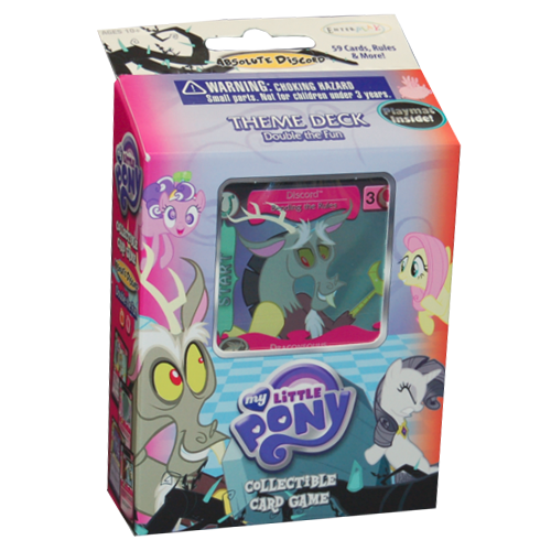 My Little Pony CCG: Absolute Discord - Double the Fun Theme Deck
