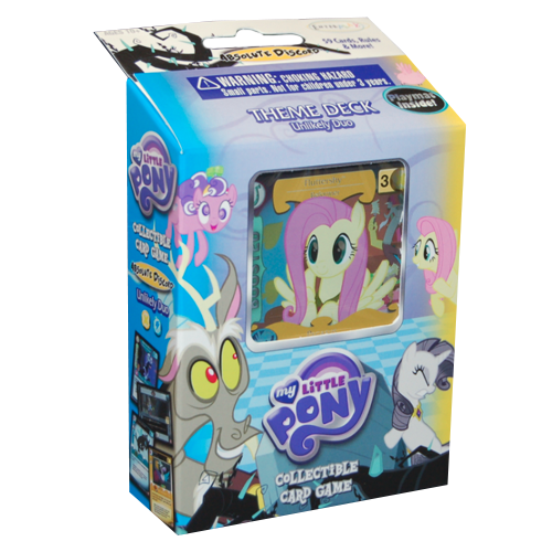 My Little Pony CCG: Absolute Discord - Unlikely Duo Theme Deck