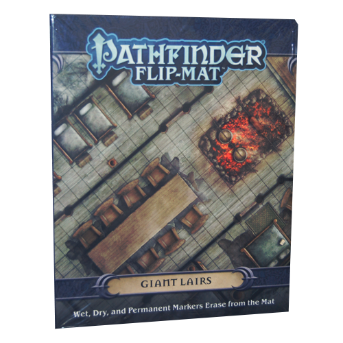 Pathfinder RPG: Flip-Mat - Giant Lairs