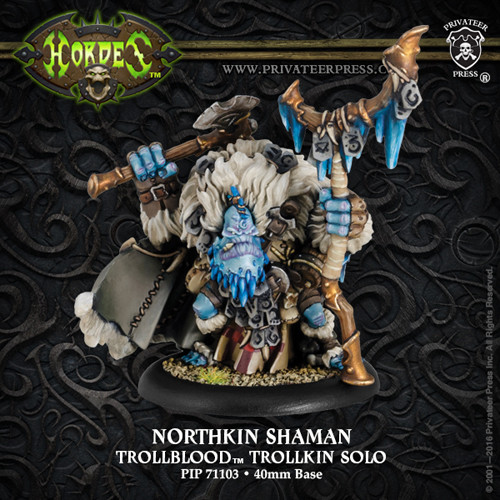 Hordes: Trollbloods - Northkin Shaman Solo (1)
