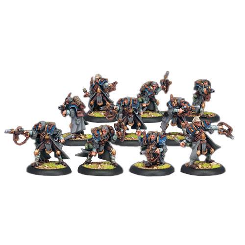 Warmachine: Cygnar - Trencher Commandos Unit Box (10)