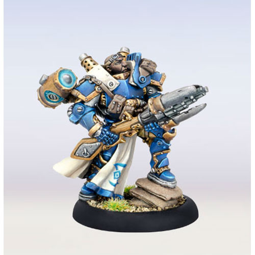 "Warmachine: Cygnar - Major Markus ""Siege"" Brisbane (1)"