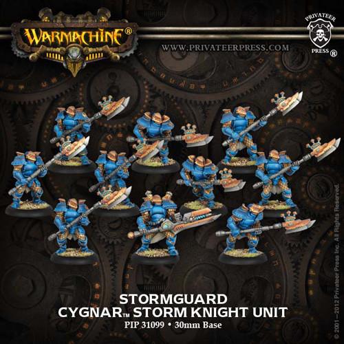 Warmachine: Cygnar - Stormguard Unit Box (10)