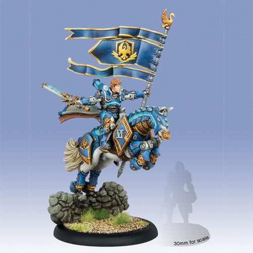 Warmachine: Cygnar - Lord General Coleman Stryker, Epic Cavalry