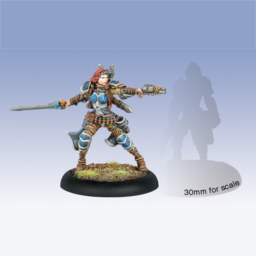 Warmachine: Cygnar - Lieutenant Allison Jakes Character Solo (1)