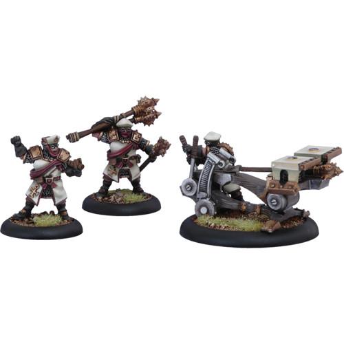 Warmachine: Protectorate - Deliverer Sunburst Crew (3)