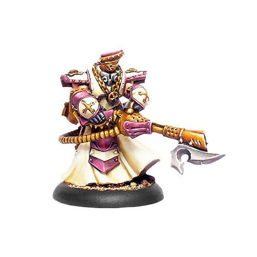 Warmachine: Protectorate - Flameguard Cleanser Officer