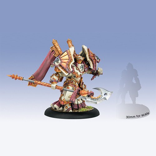 Warmachine: Protectorate - Exemplar Bastion Seneschal