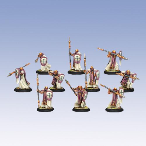 Warmachine: Protectorate - Temple Flameguard Unit Box (10)