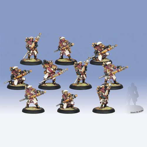 Warmachine: Protectorate - Deliverers Unit Box (10)