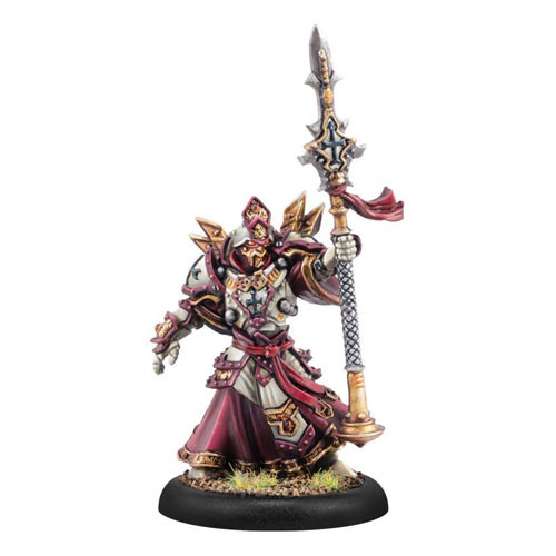 Warmachine: Protectorate - Sovereign Tristan Durant Warcaster (1)