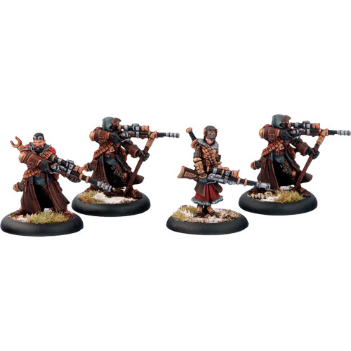 Warmachine: Khador - Widowmaker Unit Box (4)