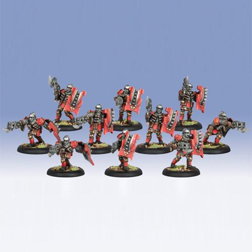 Warmachine: Khador - Assault Kommandos Unit (10)
