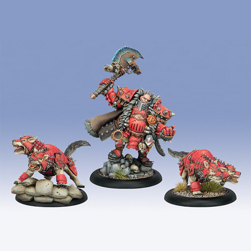 Warmachine: Khador - Orsus Zoktavir, The Butcher Unleashed Unit Box