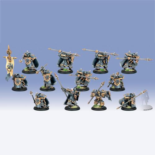 Warmachine: Khador - Iron Fang Pikemen/Black Dragons (12)