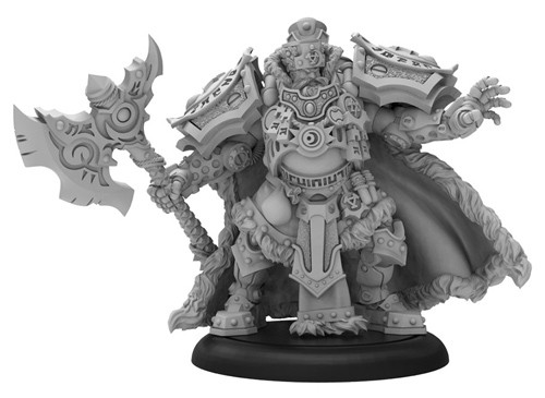 Warmachine: Khador - Greylord Forge Seer Man-O-War Solo (1)