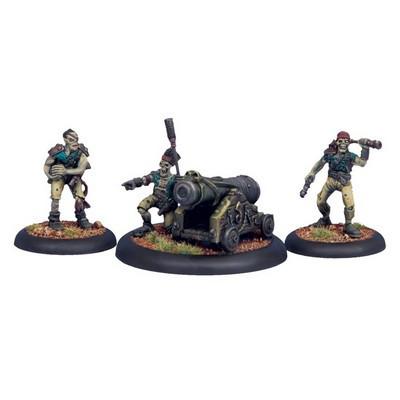 Warmachine: Cryx - Revenant Cannon Crew (3)