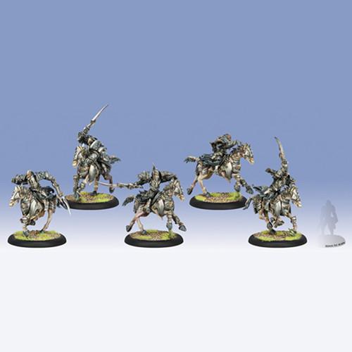 Warmachine: Cryx - Bane Riders Cavalry Unit Box (5)