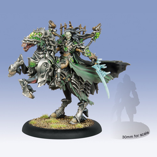 Warmachine: Cryx - Goreshade Lord of Ruin, Epic Cavalry Warcaster Box