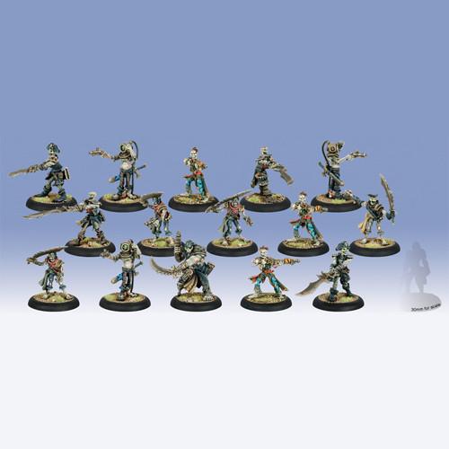 Warmachine: Cryx - Revenant Crew of the Atramentous