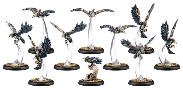 Warmachine: Cryx - Carrion Thralls Unit (10)