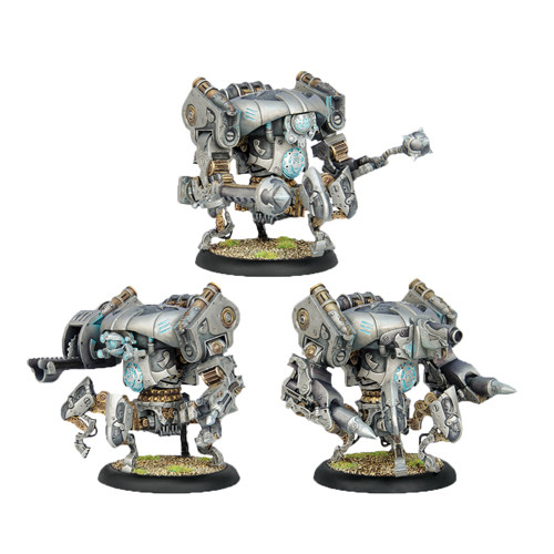 Warmachine: Convergence - Cipher/Inverter/Monitor Heavy Vector Box