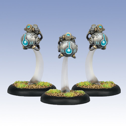 Warmachine: Convergence - Attunement Servitors (3)