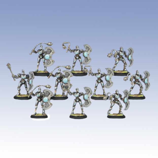 Warmachine: Convergence - Obstructors Unit Box (10)