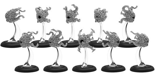 Warmachine: Infernals - Griever Swarm (10)