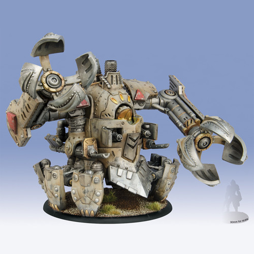 Warmachine: Mercenaries - Ghordson Earthbreaker Rhulic Colossal