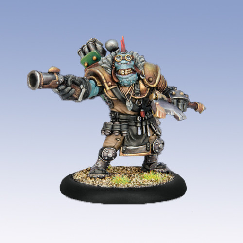 Warmachine: Mercenaries - Raluk Moorclaw, the Ironmonger