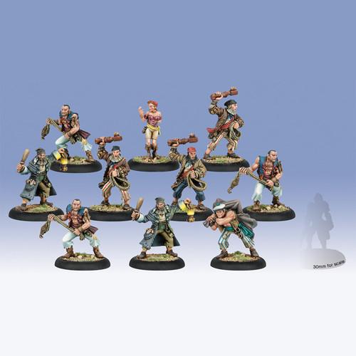Warmachine: Mercenaries - Press Ganger Unit Box (10)
