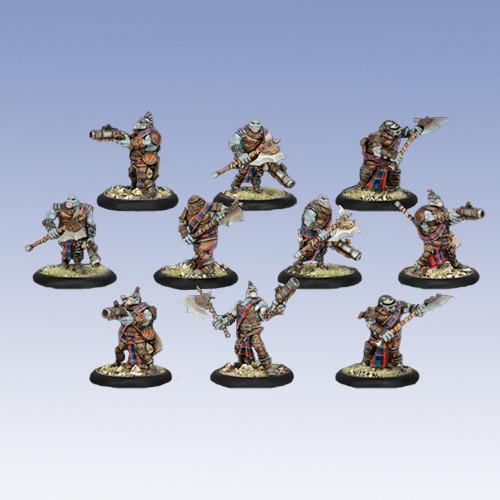 Warmachine: Mercenaries - Greygore Boomhowler & Co. Unit Box (10)