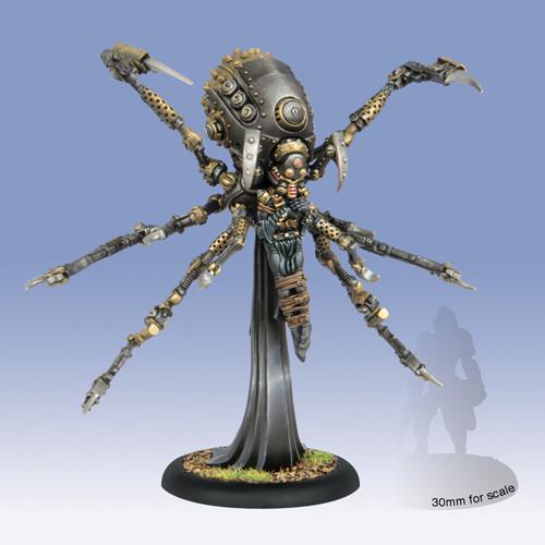 Warmachine: Mercenaries - Exulon Thexus, Cephalyx Warcaster (1)