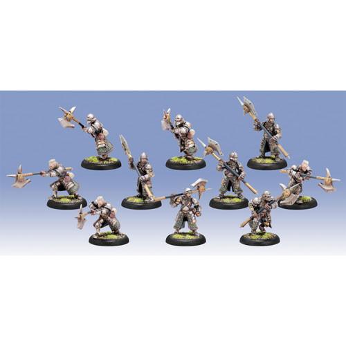 Warmachine: Mercenaries - Steelhead Halberdiers / Riflemen (10)