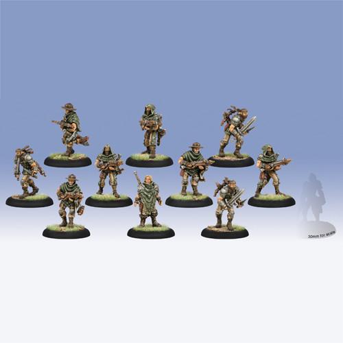 Warmachine: Mercenaries - Croe's Cutthroats Unit Box (10)