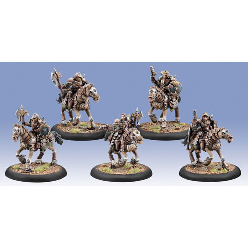 Warmachine: Mercenaries - Steelhead Heavy Cavalry Unit (5)