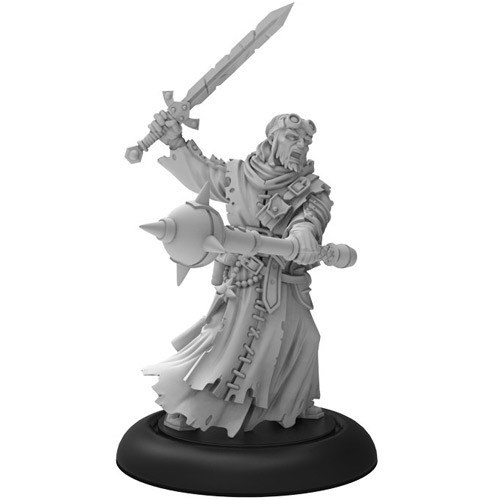 Warmachine: Mercenaries - Morrowan Battle Priest (1)