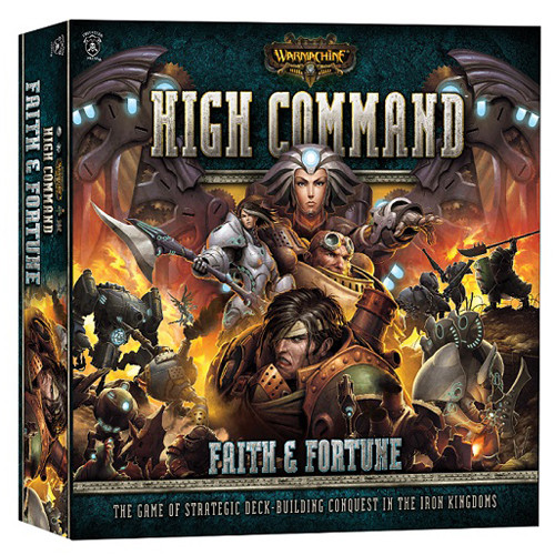 Warmachine High Command: Faith and Fortune - Core Set