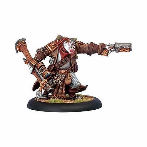 Hordes: Trollbloods - Warlock Grim Angus
