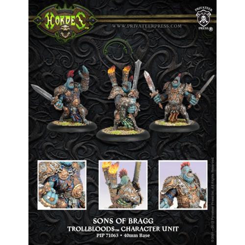 Hordes: Trollbloods - Sons of Bragg Fell Caller Unit Box (6)