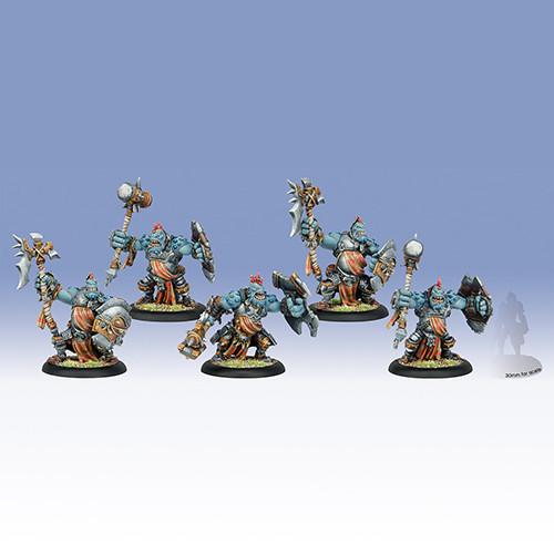 Hordes: Trollbloods - Trollkin Warders (5)