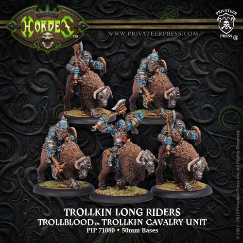 Hordes: Trollbloods - Long Rider Unit Box (5)
