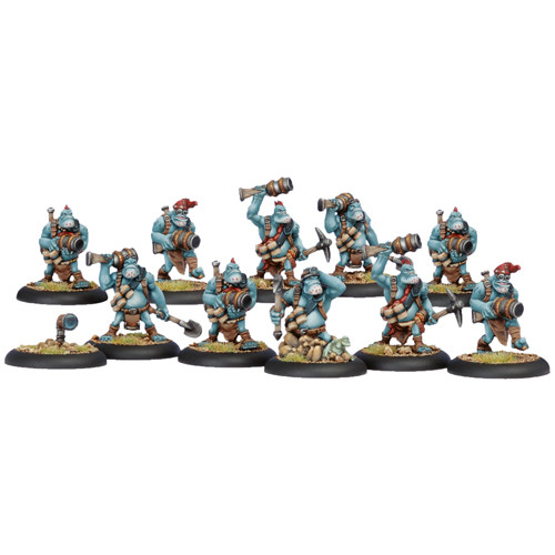 Hordes: Trollbloods - Pyg Burrowers Unit Box (10)