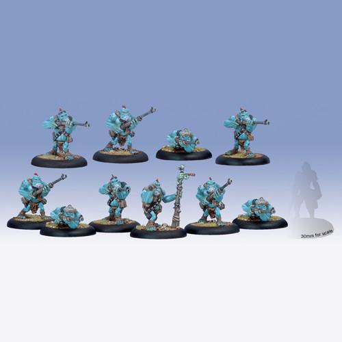 Hordes: Trollbloods - Pyg Bushwackers Unit Box (10)