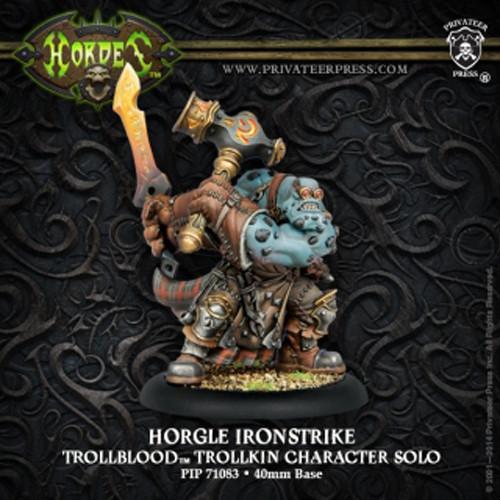 Hordes: Trollbloods - Horgle Ironstrike Trollkin Character Solo (1)