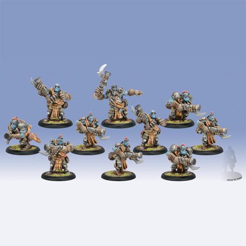 Hordes: Trollbloods - Scattergunners Unit Box (10)